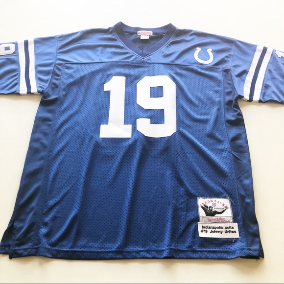 best website fd1e4 9ed6d Johnny Unitas #19 Colts Football Jersey